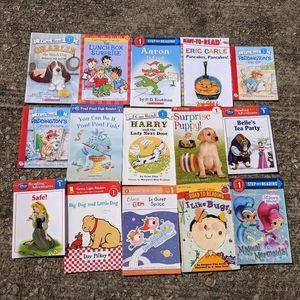 Lot of 15 Level 1 Reader Books